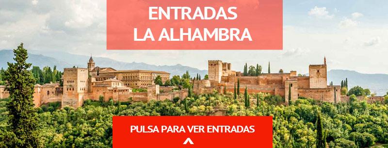comprar entradas para visita guiada a la Alhambra